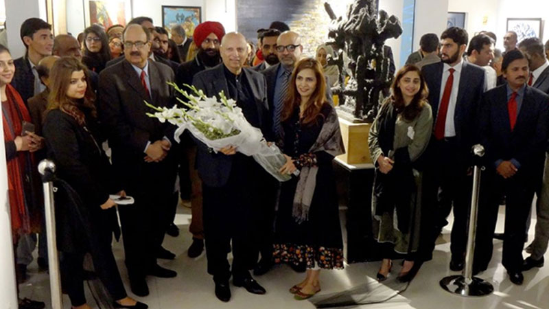 Kashmir Through the Eyes of Artists exhibition opens at Hamail Art Gallery