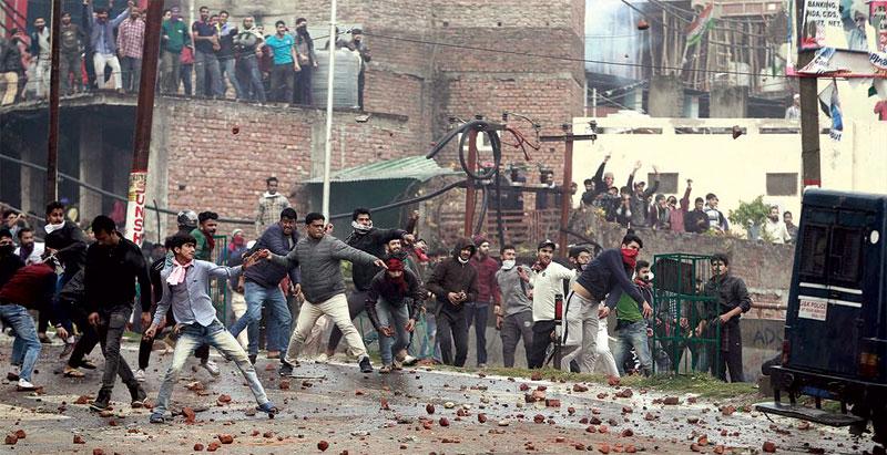 Kashmir on a rollercoaster ride