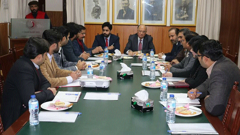 Abrar ul Haq vows to enhance PRCS capacity across country