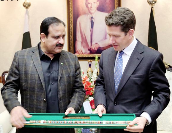 Pakistan, England partners in the journey of development: Usman Buzdar