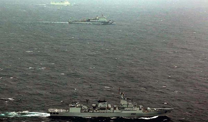 Pak-China joint naval exercise Sea Guardians concludes