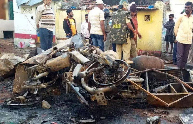 Arrests in Indian town after Hindu-Muslim riots sparked by bikers