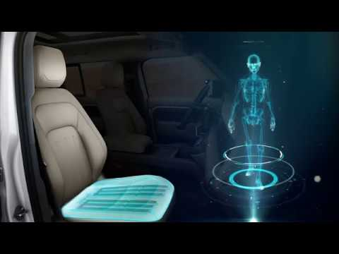 Jaguar's shape-shifting automotive seat tips your lazy mind into pondering you are strolling
