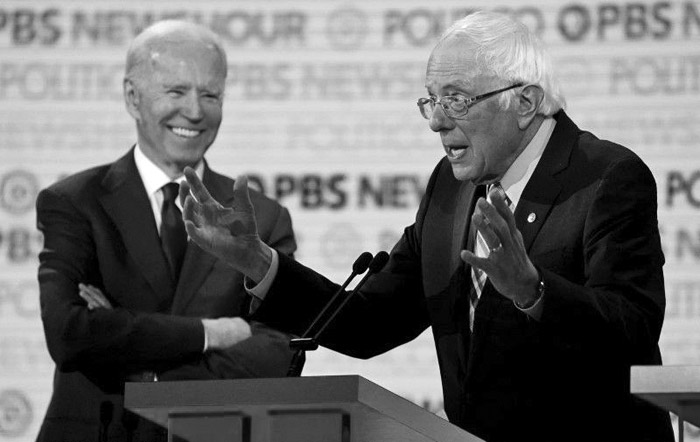 Sanders climbs, now tied with Biden among registered voters