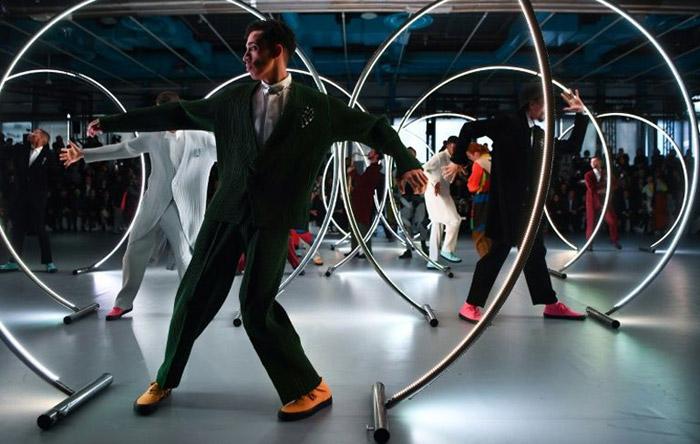 Suits ain't square: Paris fashion rethinks a men's classic