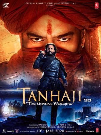 'Tanhaji — The Unsung Warrior' is a well-crafted Bollywood extravaganza