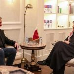 FM Qureshi meets Qatari foreign minister, calls for dialogue to resolve Middle East situation