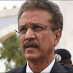 Mayor Karachi Wasim Akhtar departs for United States with family