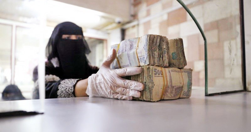 Yemen's rival powers battle over banknotes