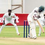 Kasuza fifty on debut for patient Zimbabwe