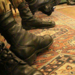 The curious case of a military boot