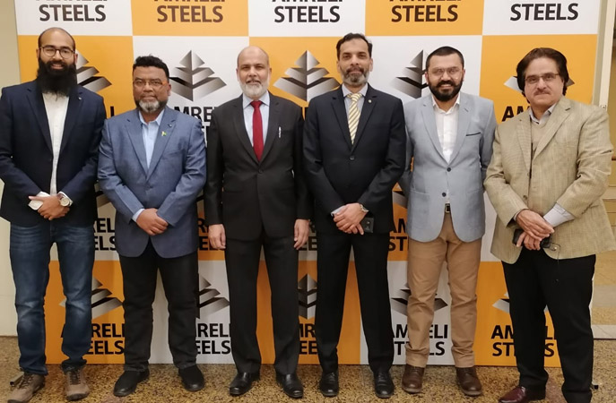 Amreli Steels opens new sales office and warehouse in Islamabad