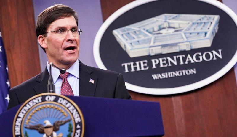 Pentagon could start global troop rebalance this year, Esper says