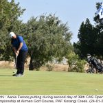 Ahmed Baig takes lead on the 2nd of CAS Open Golf Championship