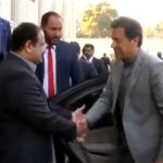 Prime minister in Lahore on day long visit; meets Punjab CM