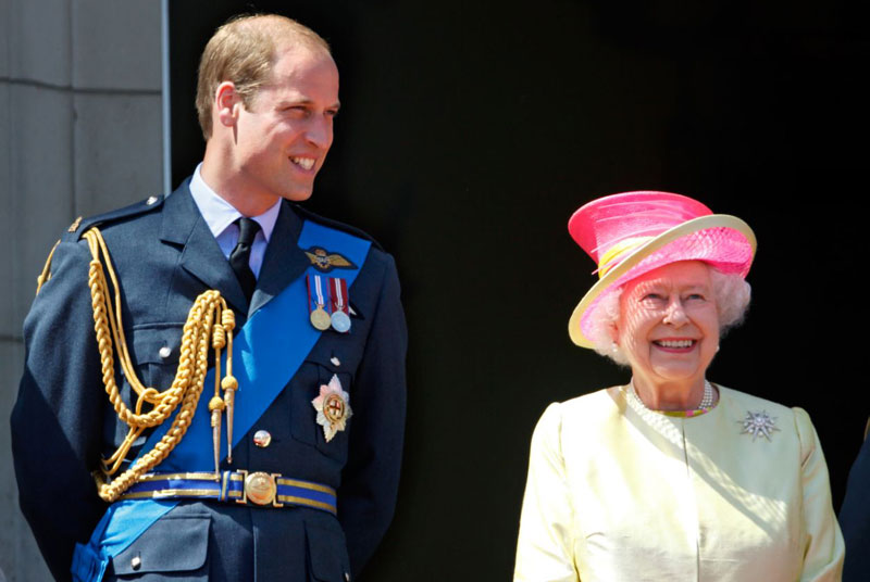 Queen Elizabeth gives Prince William new title after Prince Harry and
