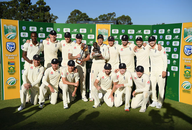 England down South Africa by 191 runs to take Test series 3-1