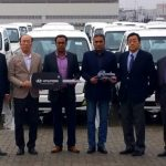 45 units of Hyundai Porter H-100 pickup delivered to a local distributor