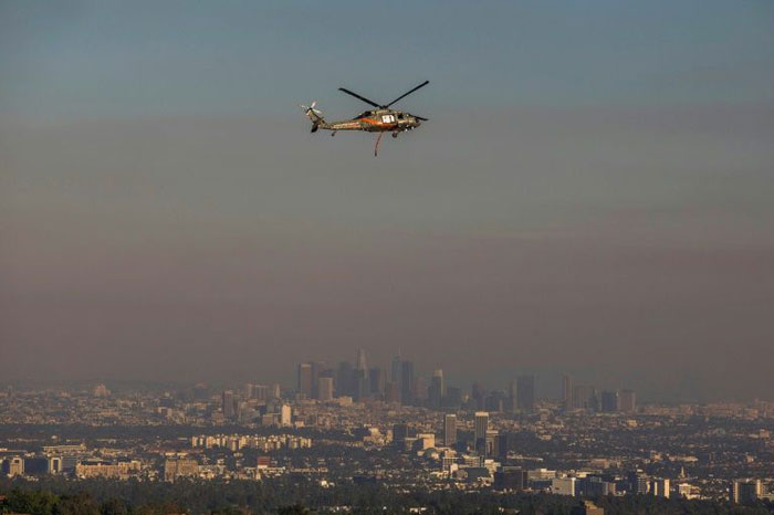 Kobe Bryant: private helicopters ferry LA elite above traffic
