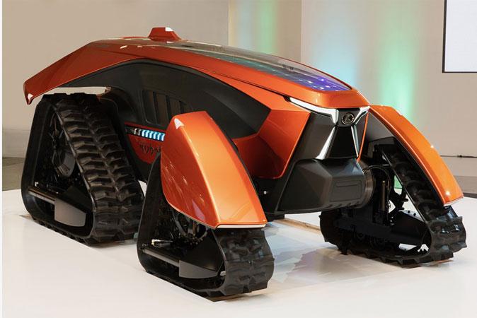 Kubota unveils radical autonomous electric tractor in Japan