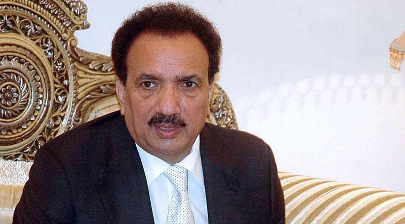 Rehman Malik seeks report on cases registered over slanderous tweets