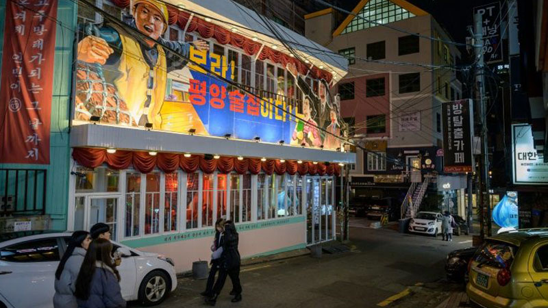 A North Korean outpost in Seoul: The Pyongyang Bar