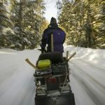 One dead, five missing after snowmobiles fall through ice in Canada