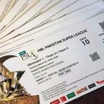 Pakistan Super League tickets sale begins today