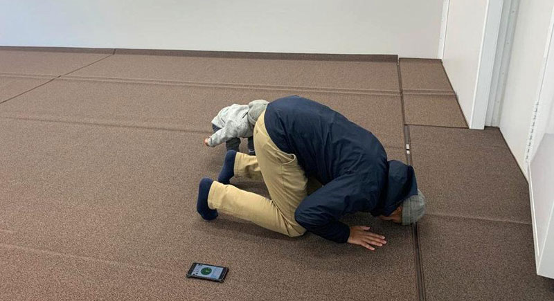 Unique solution rolls in to help Muslims pray at Tokyo Olympics