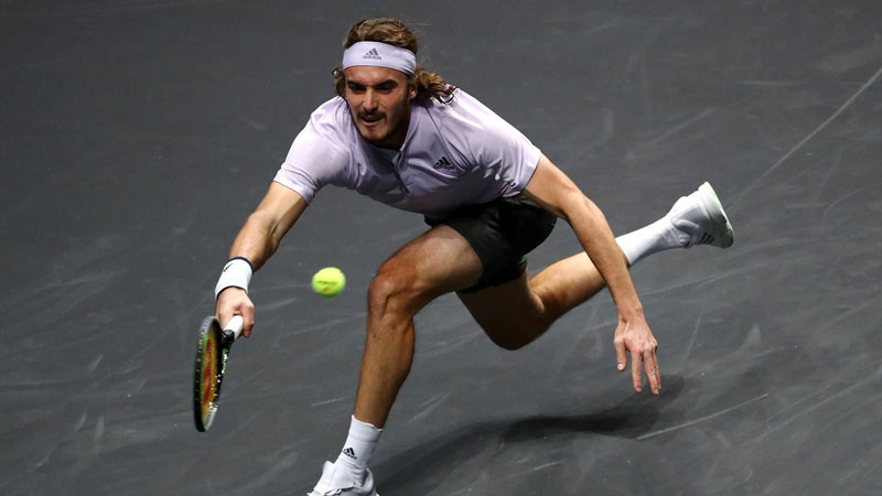 Tsitsipas out but Sinner through as Rotterdam delivers further shocks