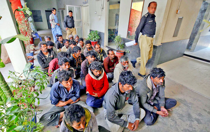 Maritime agency arrests 23 Indian fishermen over violation of sea limits