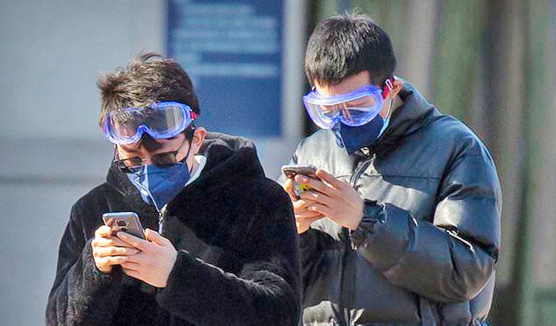 New virus cases fall
