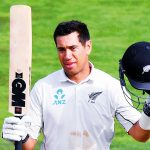 New Zealand's Taylor bats away retirement talk ahead of 100th Test