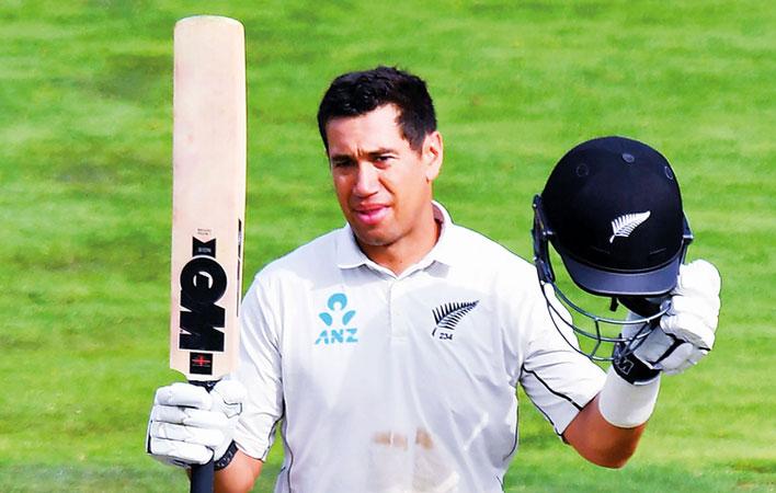 New Zealand's Taylor bats away retirement talk ahead of 100th Test
