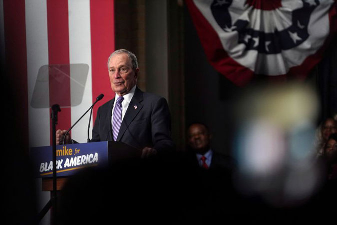 Sanders, Bloomberg trade insults as Democratic White House race heats up