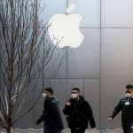 Stocks fall after Apple warns on coronavirus impact