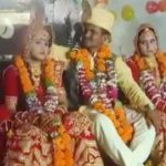 Two sisters marry same man at wedding ceremony