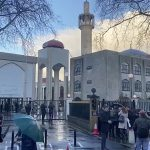 Man held after stabbing at London mosque