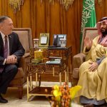 US' Pompeo, Saudi crown prince discuss Iran 'threat'