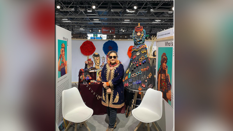 Huma Adnan's Craft Stories goes to France