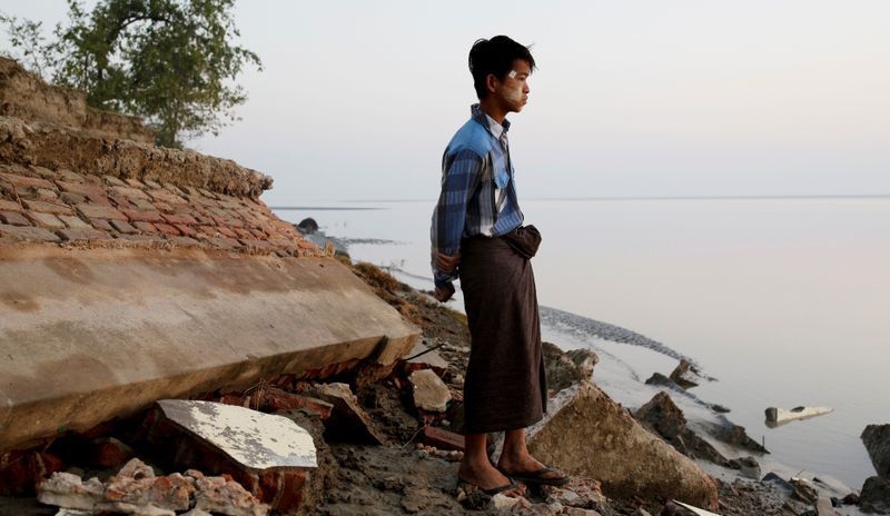 Rising sea levels put Myanmar's villages on frontline of climate change