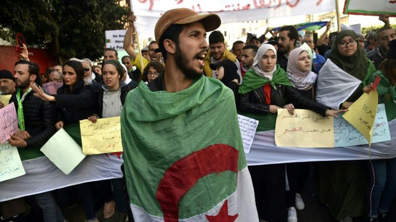Algerians to mobilise to mark protest movement's first birthday