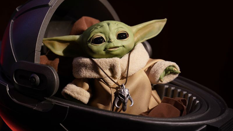 Baby Yoda toys from Disney 'The Mandalorian' to hit store shelves next month