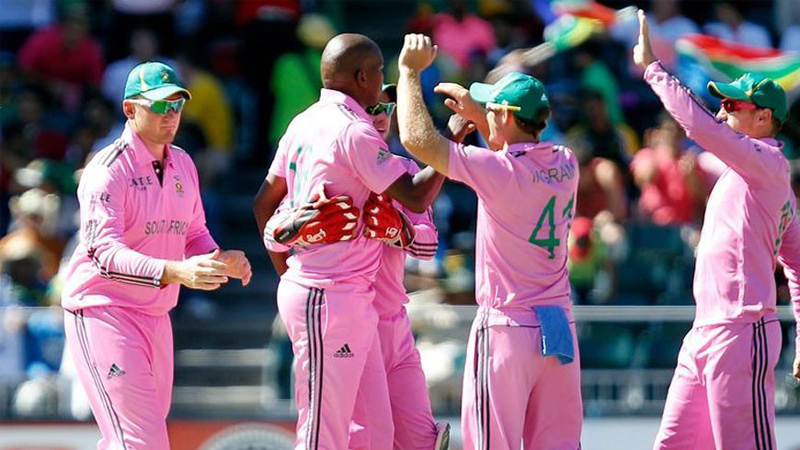 England to join South Africa's cancer cause by sporting pink kits