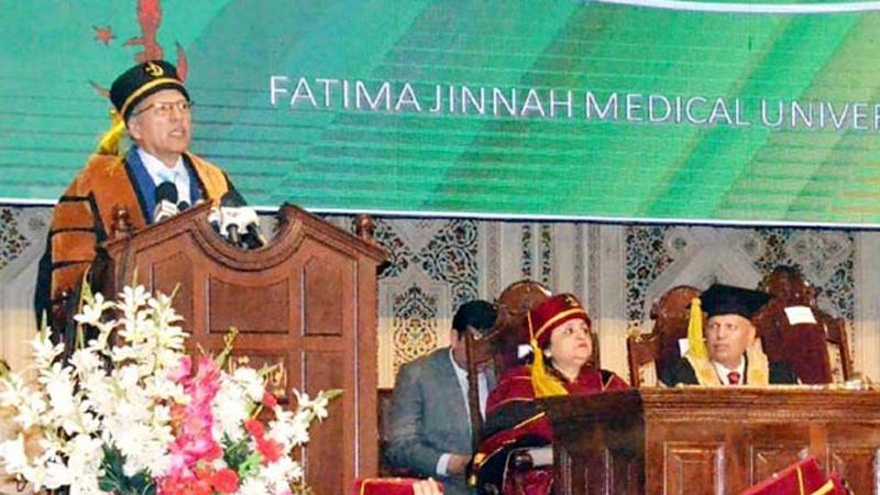 Govt taking revolutionary steps in health sector: President Alvi