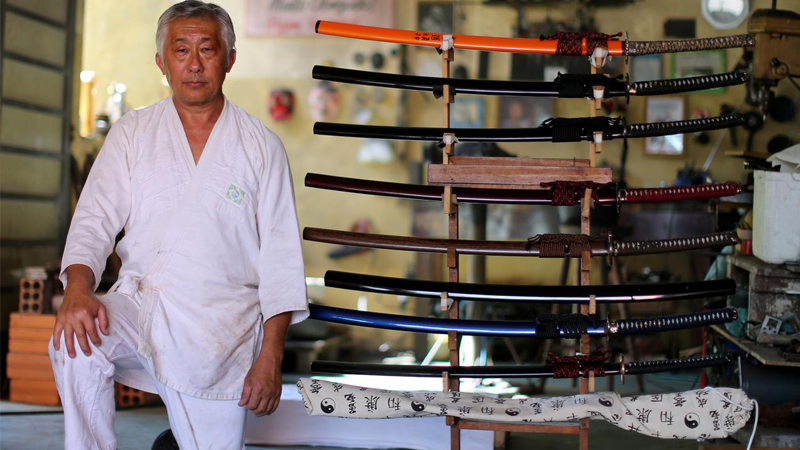 Brazil's 'last samurai' seeks to keep tradition alive in South America