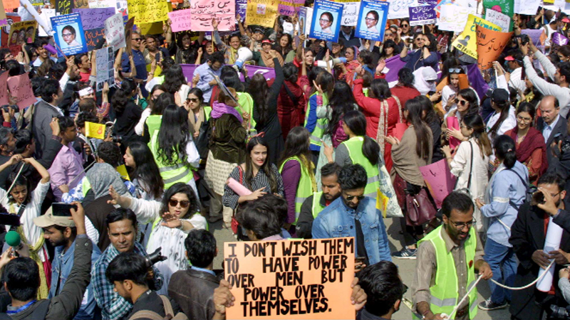Backlash over Women's Day rally in Pakistan