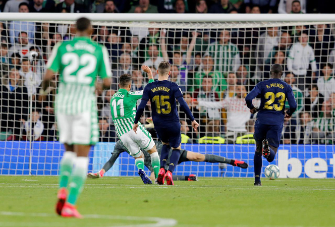 Real Madrid lose at Betis to hand top spot back to Barcelona