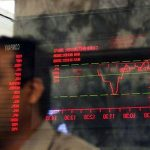 Global stock markets plunge weighs on KSE-100
