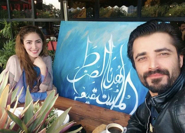 Hamza Ali Abbasi pens down endearing note for wife Naimal Khawar
